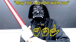 "getlinkyoutube.com-Star Wars' ""May The Force Be With You"" 