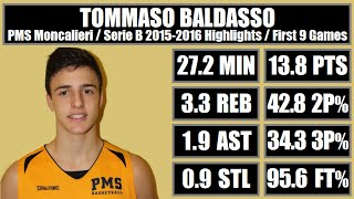 getlinkyoutube.com-Tommaso Baldasso - Serie B Highlights: first 9 games