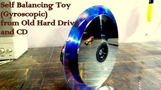 getlinkyoutube.com-How to make a self balancing Toy at home l Gyroscope l DIY Gyro toy