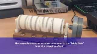 getlinkyoutube.com-Quad V-Gate Magnetic Rotation Engine - Free Energy Ideas