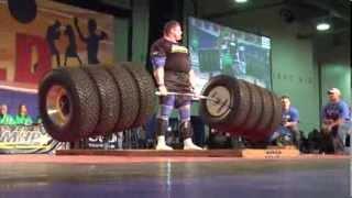 getlinkyoutube.com-New World Record Deadlift 1155 pounds World's Strongest Man