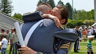 getlinkyoutube.com-West Point Graduation Video: United States Military Academy - Go Army!