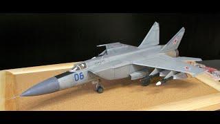 getlinkyoutube.com-Mikoyan MiG-25 (Hasegawa 1/72)
