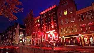 getlinkyoutube.com-Amsterdam Red Light District Walking Tour