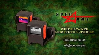 getlinkyoutube.com-Тепловизор, Обзор тепловизионного прицела Т10 S и Т10 N