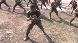 getlinkyoutube.com-MilitaryMixedMartialArts.com - US and Philippine Marines do crazy knife and sword training