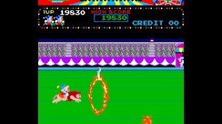 getlinkyoutube.com-Arcade Game: Circus Charlie (1984 Konami)
