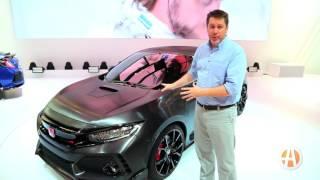 getlinkyoutube.com-2017 Honda Civic Type R: Paris Auto Show - Video