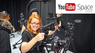 INSANE STABILIZED CAMERA RIG! (YouTube Space London)