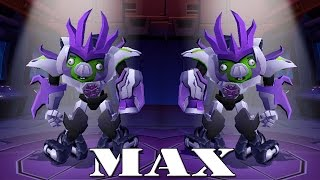 getlinkyoutube.com-Angry Birds Transformers - Dark Megatron MAX Level Gameplay Walkthrough #23