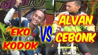 getlinkyoutube.com-Drag Bike - ALFAN CEBONK VS EKO CHODOX Drag Bike Series 4 AHRS Manding Jogja HD