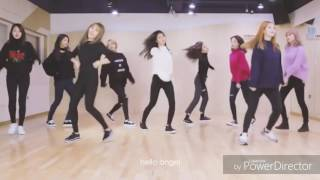 RED VELVET Rookie in TWICE's Dance Practice Jelly Jelly