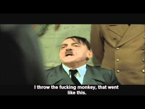 Hitler finds out there is no zombie mode in mw3