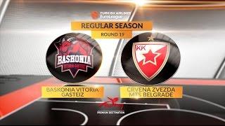 Kratak pregled utakmice: Baskonia Vitoria Gasteiz-Crvena Zvezda mts Belgrade!
