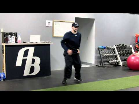 Racquetball Training Drills Switch Lunges.MOV