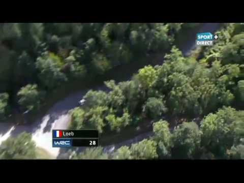 WRC France Alsace 2012 - SS5 Hohlandsbourg-Firstplan 2 (live TV)