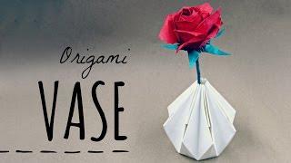 getlinkyoutube.com-How to make an Origami Vase (Tadashi Mori)