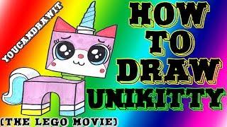 getlinkyoutube.com-How To Draw Unikitty from The LEGO Movie ✎ YouCanDrawIt ツ 1080p HD
