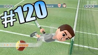 getlinkyoutube.com-Wii Have Fun #120: Wii Sports Club Tennis (Game 1)