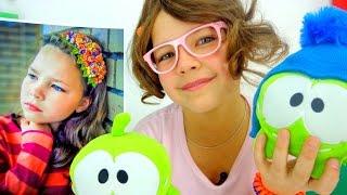 getlinkyoutube.com-Лучшая подружка Настя! Правнучка Леонардо Да Винчи! Играем и рисуем вместе!