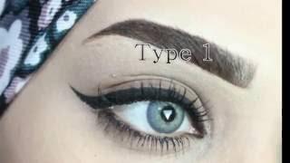 getlinkyoutube.com-كيف ترسمي | عيونك | بالايلاينر  .. How to Eyeliner