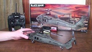 getlinkyoutube.com-Heli-Max - Black Hawk - Review and Outdoor Flight