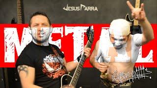 getlinkyoutube.com-Como ser metalero l El Cacash & Jesus Parra