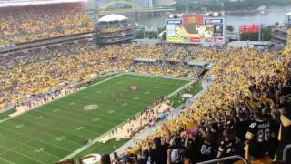 "getlinkyoutube.com-""Renegade"" by Styx played at every Pittsburgh Steelers home game at Heinz Field 09/18/16 VS Bengals"