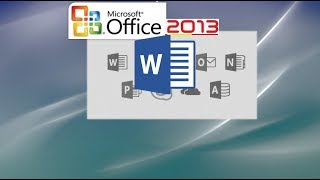 getlinkyoutube.com-Word 2013 (Office 365): A Full Tutorial of Most Features Part 1 of 2