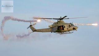 getlinkyoutube.com-U.S. Marine Super Hueys Helicopter In Action - Urban Town Attack