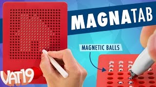 Magnatab Magnetic Tablet and Stylus