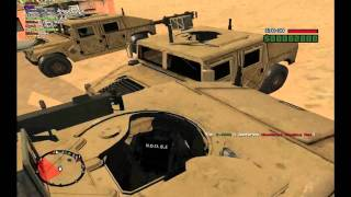 getlinkyoutube.com-GTA San Andreas Mig-23, Leopard 2A5, Hummer H1