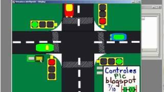 getlinkyoutube.com-Semaforo Inteligente control de cruce de autos PLC y Rsview32