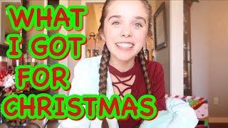 What I got for CHRISTmas 2017  Jenna Davis