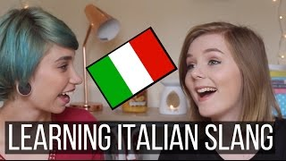 getlinkyoutube.com-Learning Roman Slang | BRITISH VS ITALIAN