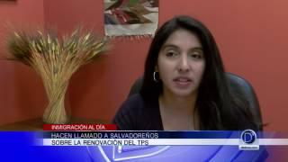 Hacen llamado a salvadoreños sobre la renovación del TPS