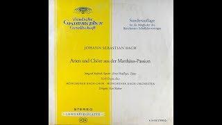 VACKSBOOK_2018  BACH Arien und Chöre aus der Matthäus Passion   Dirigent: Karl Richter