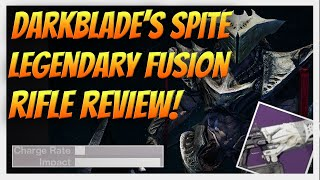 getlinkyoutube.com-Destiny - DARKBLADE'S SPITE! Strike Specific Fusion Rifle Drop. Full Review & Gameplay.