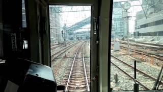 getlinkyoutube.com-207系大阪駅到着直前に非常ブレーキ作動!! 緊急停止から復帰まで ※大阪駅非常ボタンが取り扱われたため