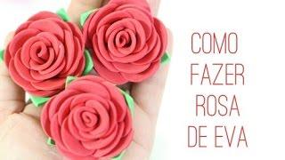 getlinkyoutube.com-Como fazer rosa de EVA