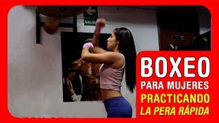Boxeo para mujeres: Aprendiendo a golpear la pera rápida
