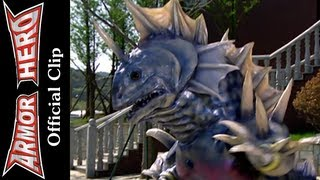 Armor Heroes Fights with Monsters - Official English Clip  [HD 公式] - 63