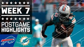 getlinkyoutube.com-Bills vs. Dolphins (Week 7) | Game Highlights | NFL