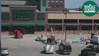 getlinkyoutube.com-Whole Foods Detroit - construction timelapse