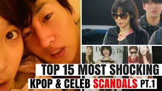 getlinkyoutube.com-Top 15 Most SHOCKING Kpop & Korean Celebrity SCANDALS of All Time Pt.1 | HOT TOPIC