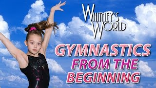 getlinkyoutube.com-Whitney Bjerken Gymnastics | From the Beginning