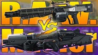 getlinkyoutube.com-R.A.W. VS Mauler (Call of Duty Infinite Warfare Weapons Versus)