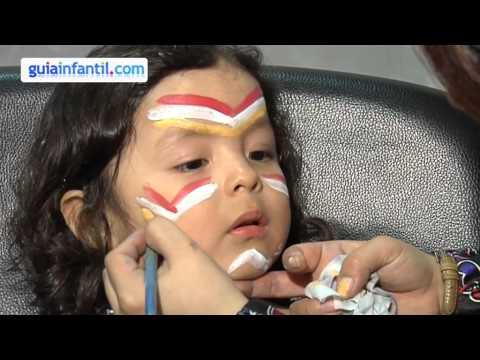 Kinderschminken Indian