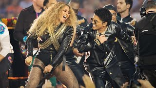 getlinkyoutube.com-Beyoncé & Bruno Mars Crash the Pepsi Super Bowl 50 Halftime Show | NFL