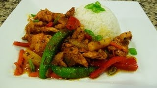 getlinkyoutube.com-Spicy Chicken Stir Fry